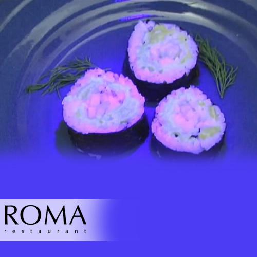 Curiositats – Sushi amb peix fluorescent…
